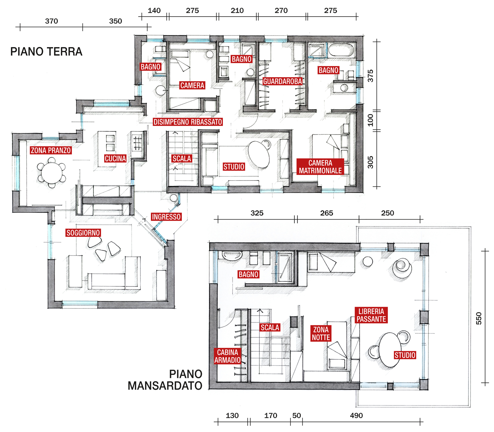 Progetto Di Casa Moderna
